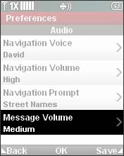 Select Message Volume