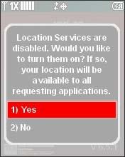 Selecciona Yes