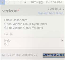 Click Grow your Cloud