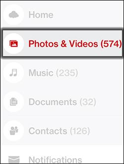 Tap Photos & Videos