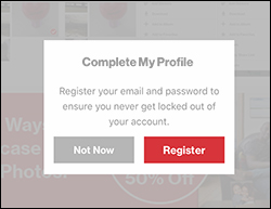 Tap Register