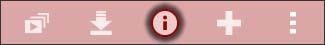 Oprime el icono Info