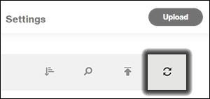 Click the Sync icon