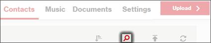 Click the Search icon