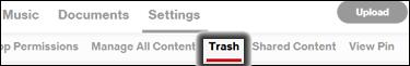 Click Trash