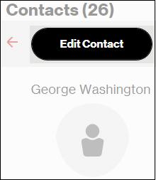 Click Edit Contact