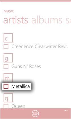 Select Music Artist