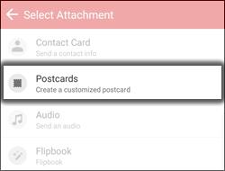 """Toca """"Postcard"""""""