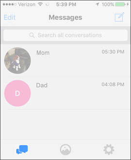 view text message