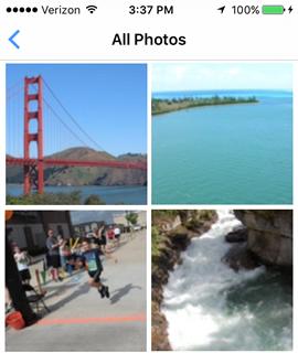 Navega hacia una foto