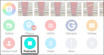 Tap Postcards