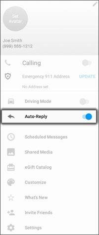 oprime Auto Reply