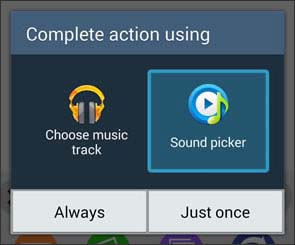 Select audio app