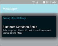 Adjust Bluetooth Settings