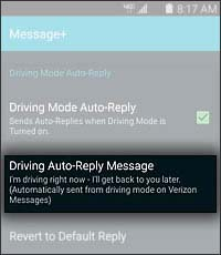 Auto Reply Message