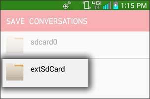 Tap SD (Memory) Card