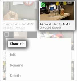 Tap Video app
