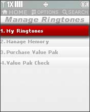 Select My Ringtone
