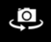 Camera front-facing lens icon