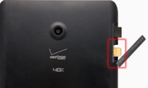 SIM card slot