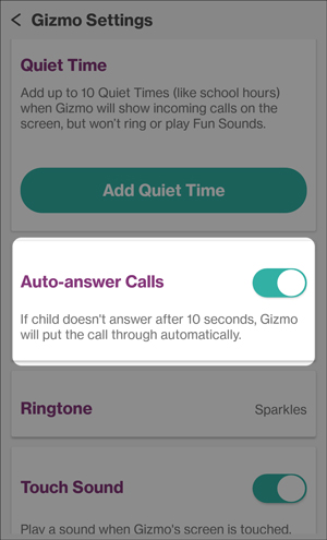 Turn auto answer call on or off