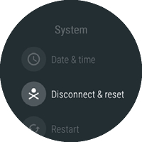System with Disconnect & reset