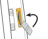 cerrar la cubierta de la ranura para la tarjeta de memoria