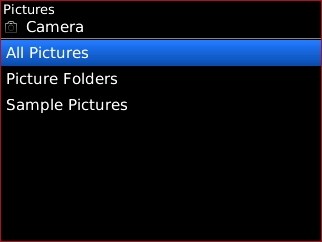 Select a picture folder