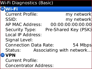Wi-Fi Diagnostics basic