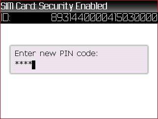 Ingresa un nuevo código PIN