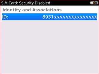 ID de tarjeta SIM