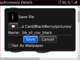 Save file confirmation with Save