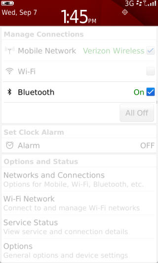 Manage Connections with Bluetooth