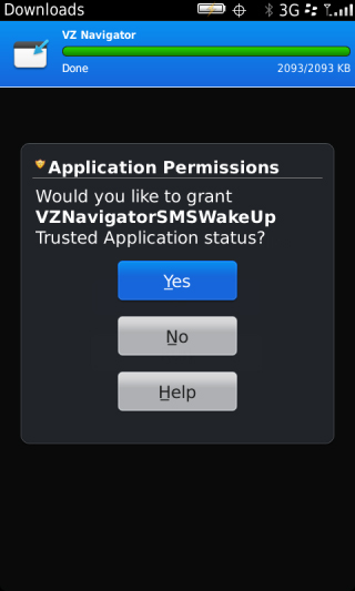 Application Permissions with Yes