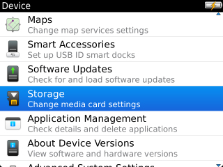 Device con Storage