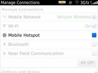 Manage Connections with Mobile Hotspot
