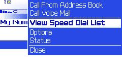 Adding a speed dial entry - Step 2