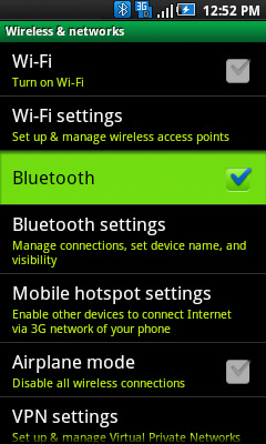 Wireless & networks with Bluetooth
