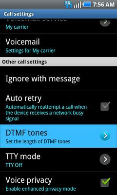 Tonos DTMF