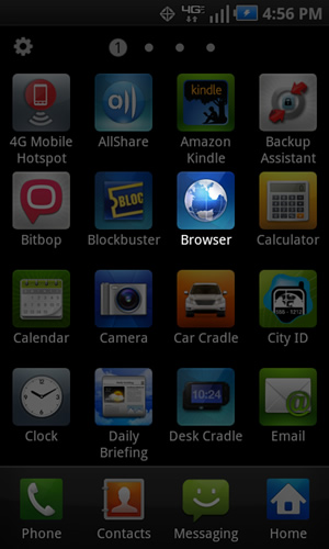 Aplicaciones con navegador