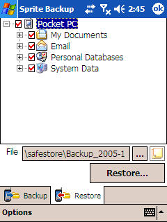 Image of Sprite Advanced restore
