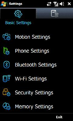 Tap Security Settings