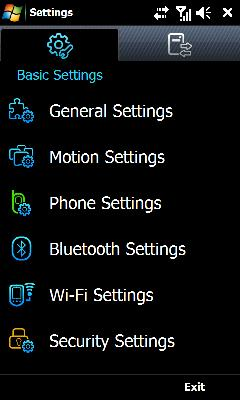 Tap Phone Settings