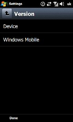 Tap Windows Mobile