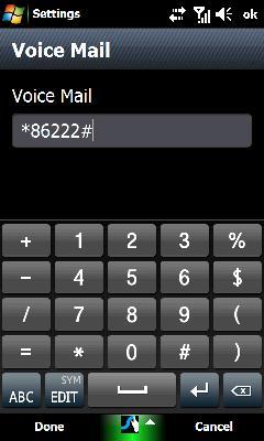 Editar el buzón de voz