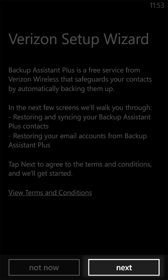 Backup Assistant Plus Terms and Conditions
