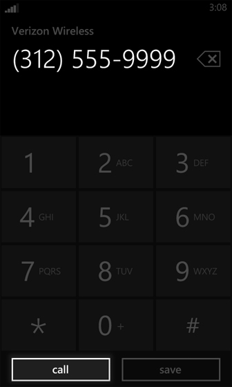 Keypad Screen dial number and select call