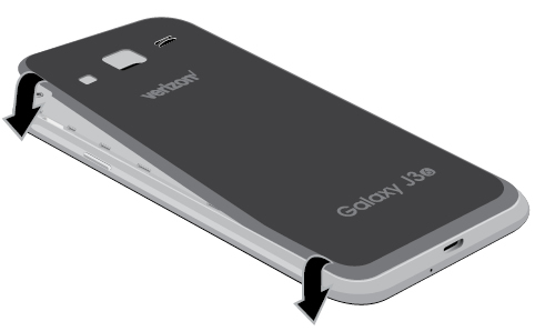 Close battery cover