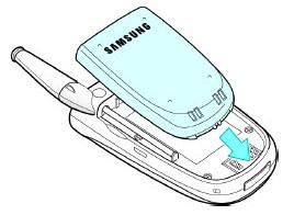 Insert battery 1