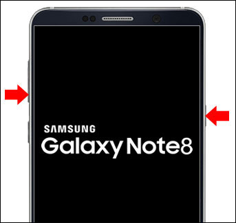 Samsung Factory Galaxy - Off Data Reset powered Note8